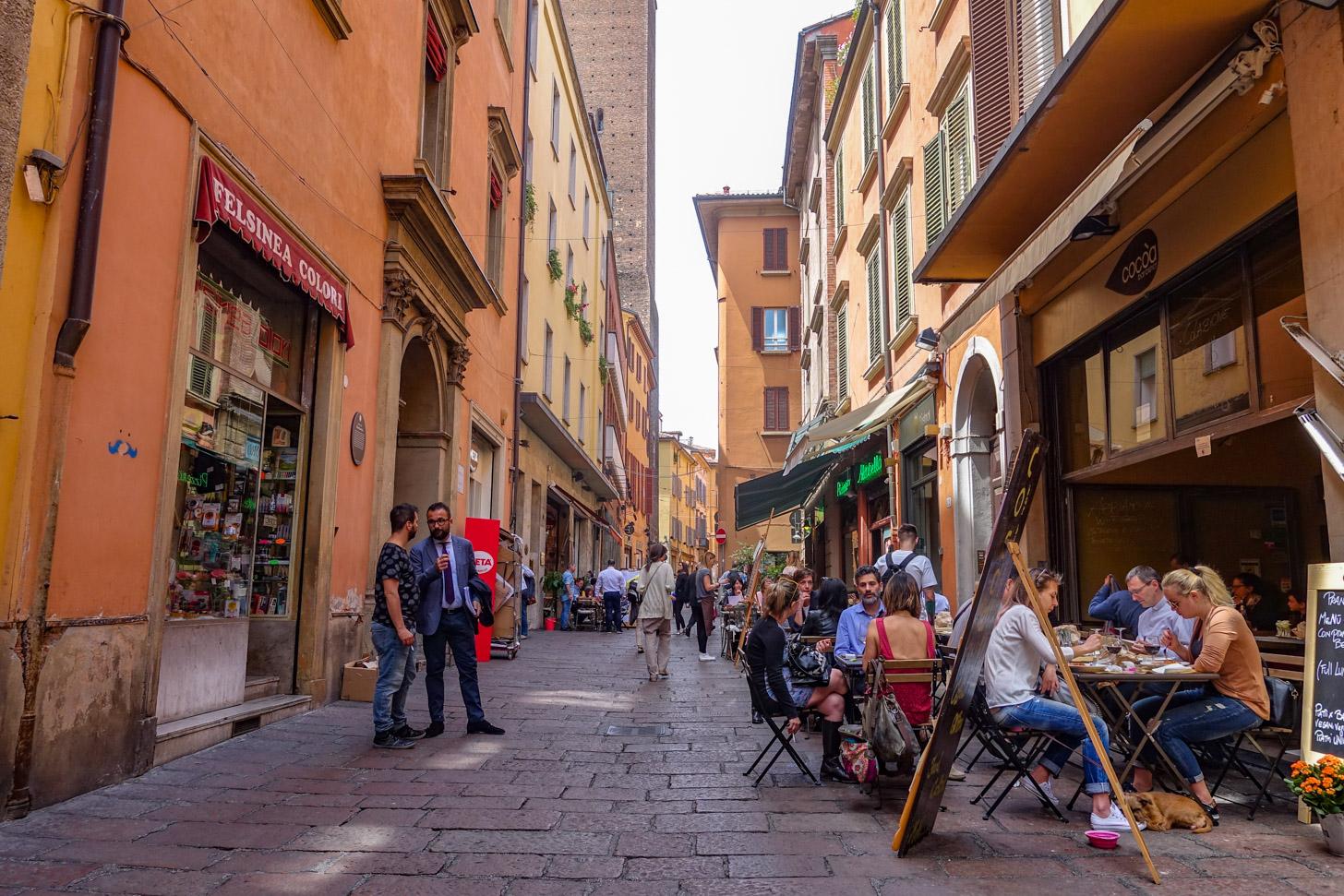 Stedentrip naar Bologna