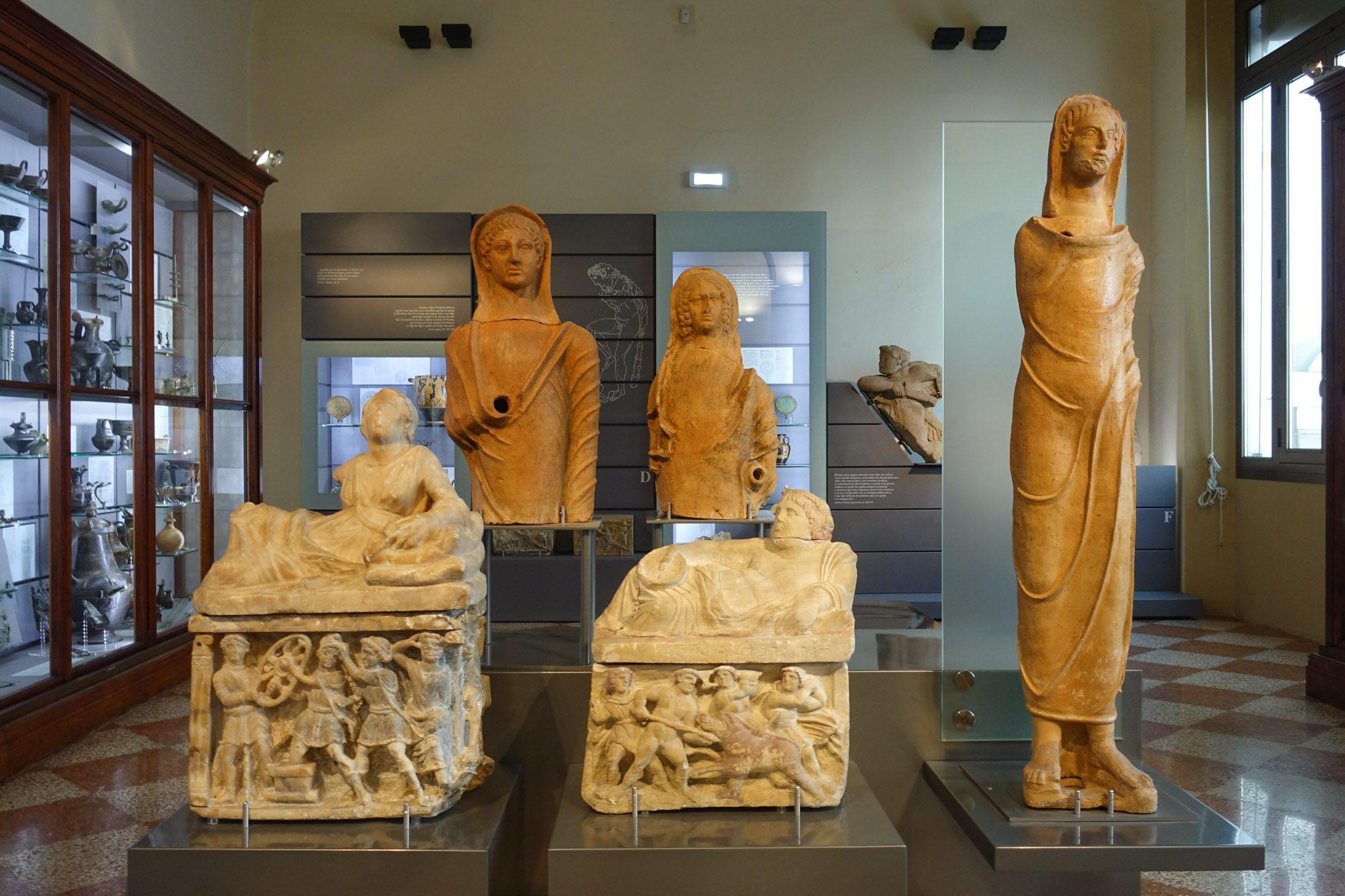het archeologisch museum van Bologna
