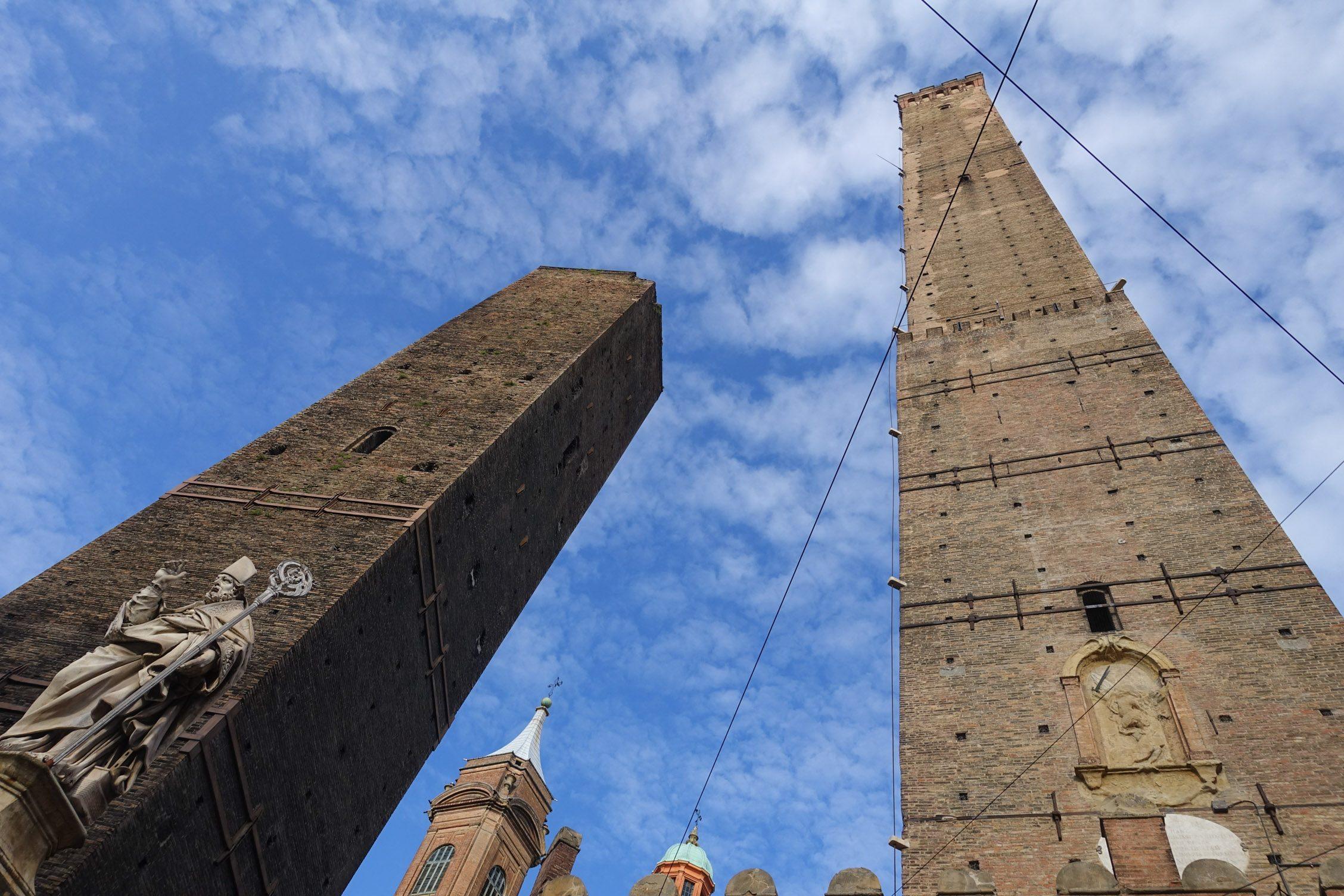 de twee torens van Bologna