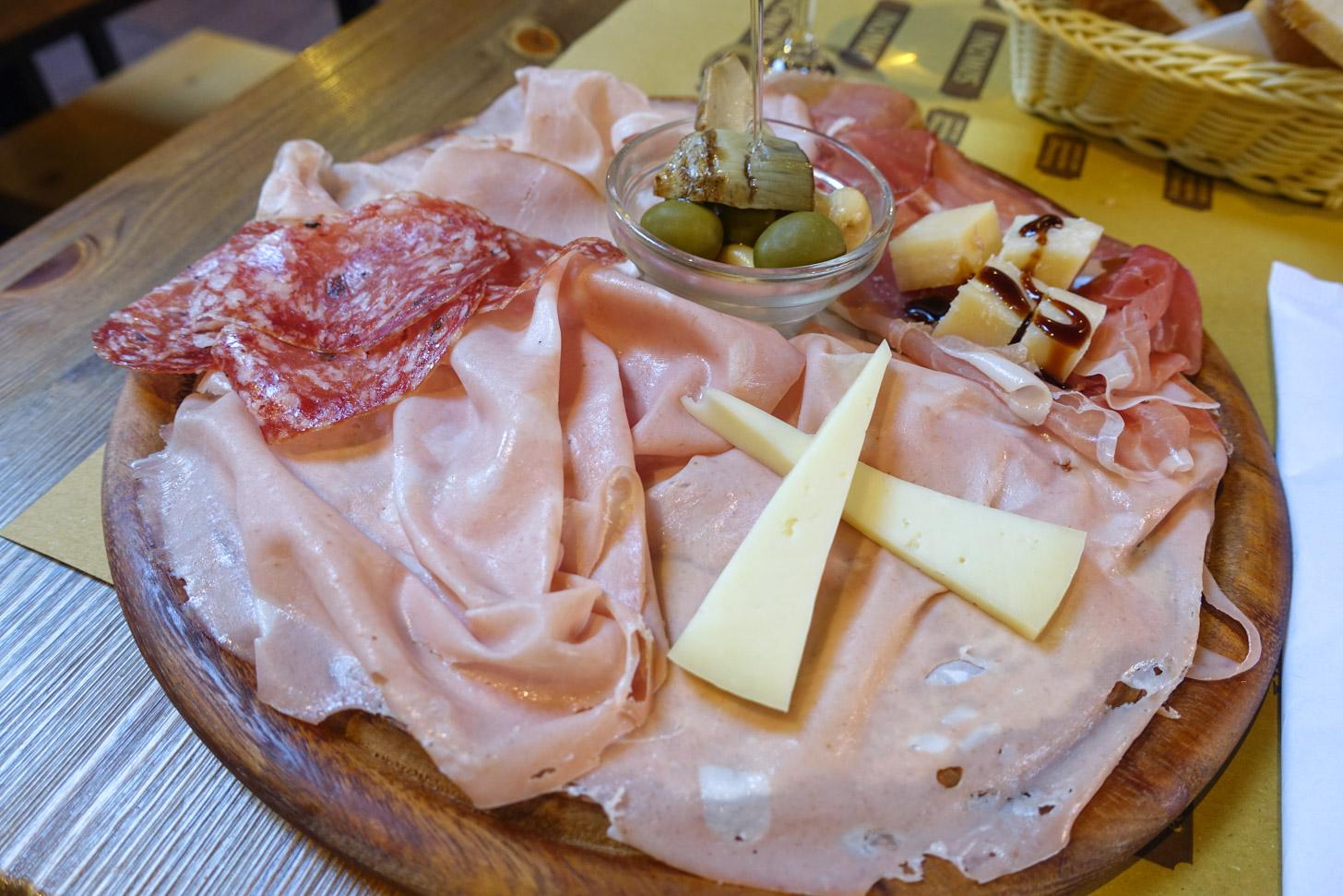 Culinaire hart van Italië